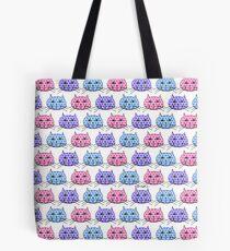 Polka Dot Cats Tote Bag