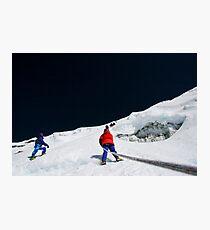 Steep Photographic Print