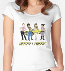 Saturday Morning Death Proof Women's Fitted Scoop T-Shirt