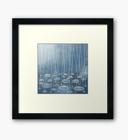 Another rainy day Framed Print