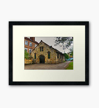 St Crux - Pavement,York Framed Print