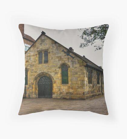 St Crux - Pavement,York Throw Pillow