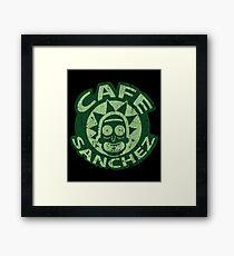 Cafe Rick Framed Print