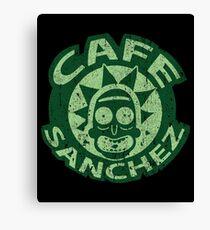 Cafe Rick Canvas Print