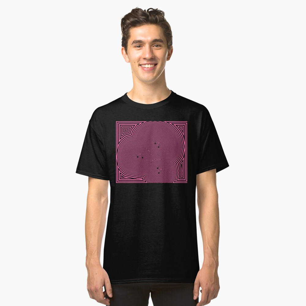Chickenfeet - Pink Classic T-Shirt