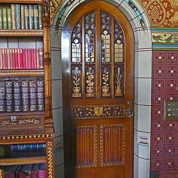The Library Door by grmahyde