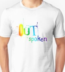 OUTSpoken Rainbow Slim Fit T-Shirt