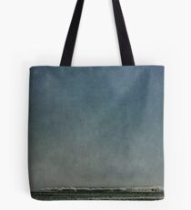 Big sky with frost Tote Bag
