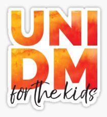 UNI DM Watercolor Sticker