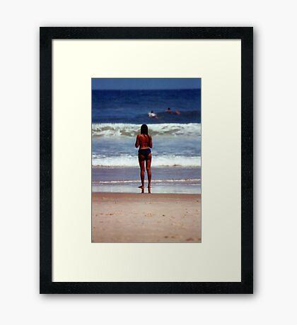 Girl from Ipanema Framed Print