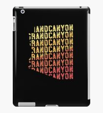 Grand Canyon TShirt - Arizona USA Retro Vacation Gift iPad Case/Skin