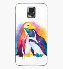 Funda/vinilo para Samsung Galaxy Pride Penguins - 2018