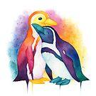 Pride Penguins - 2018 by Denise Soden