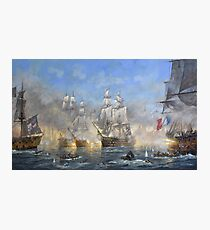The Battle of Trafalgar Photographic Print