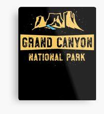 Grand Canyon National Park TShirt - USA Summer Vacation Metal Print