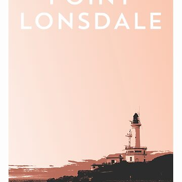 Point Lonsdale Travel Poster by AaronKinzer