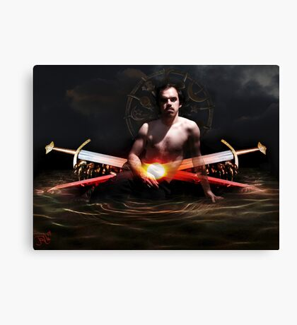 Hamlet´sPassion (TwoOfSwords) Canvas Print