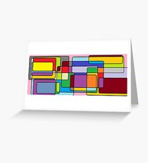Farbpalette Grußkarte