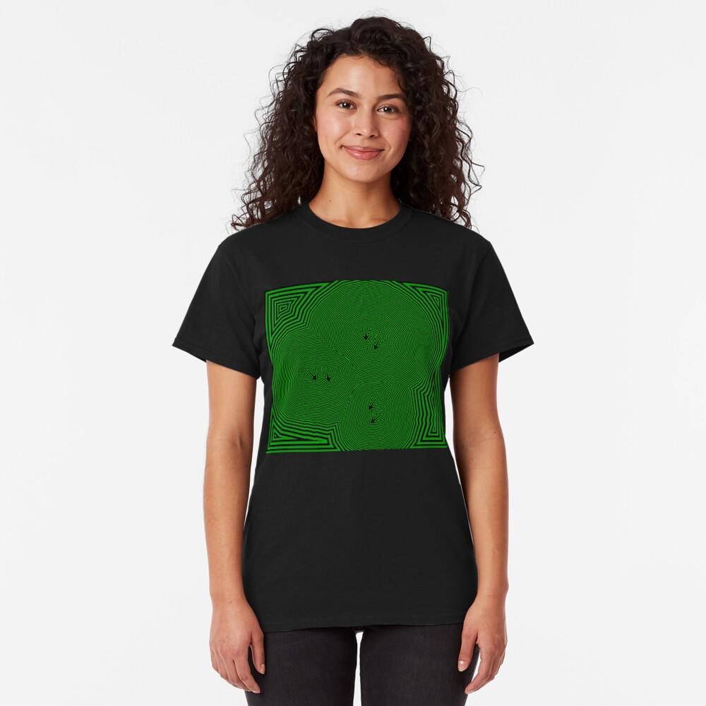 Chickenfeet - Green Classic T-Shirt