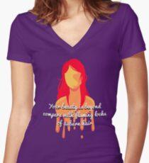 Jolene Women's Fitted V-Neck T-Shirt