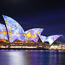 Sydney Opera House in Colour, June 2009. by Charles Fortin