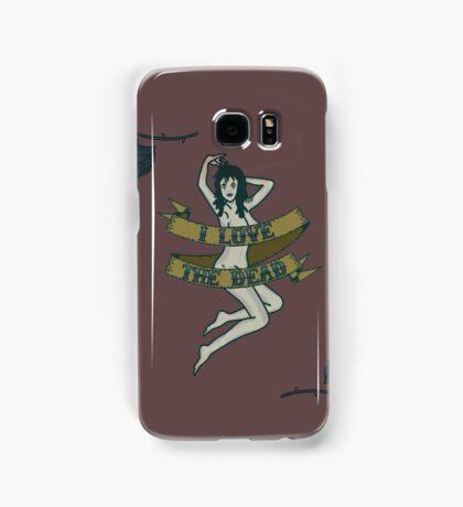 I Love The Dead Samsung Galaxy Case/Skin