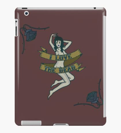 I Love The Dead iPad Case/Skin