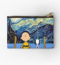 Snoopy Starry night Studio Pouch
