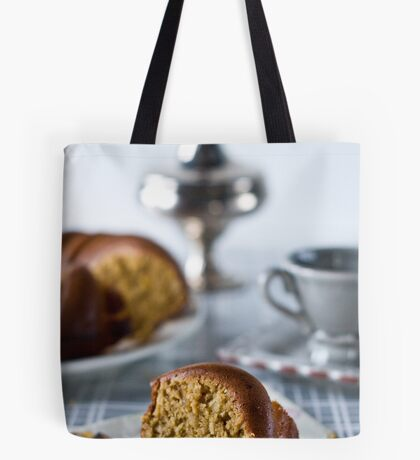 Coffee is served Tote Bag