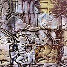 Elephant war by John Spies