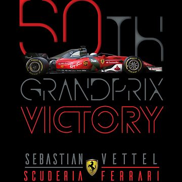 F1 Vettel 50th Grand Prix Victory  by customstyle