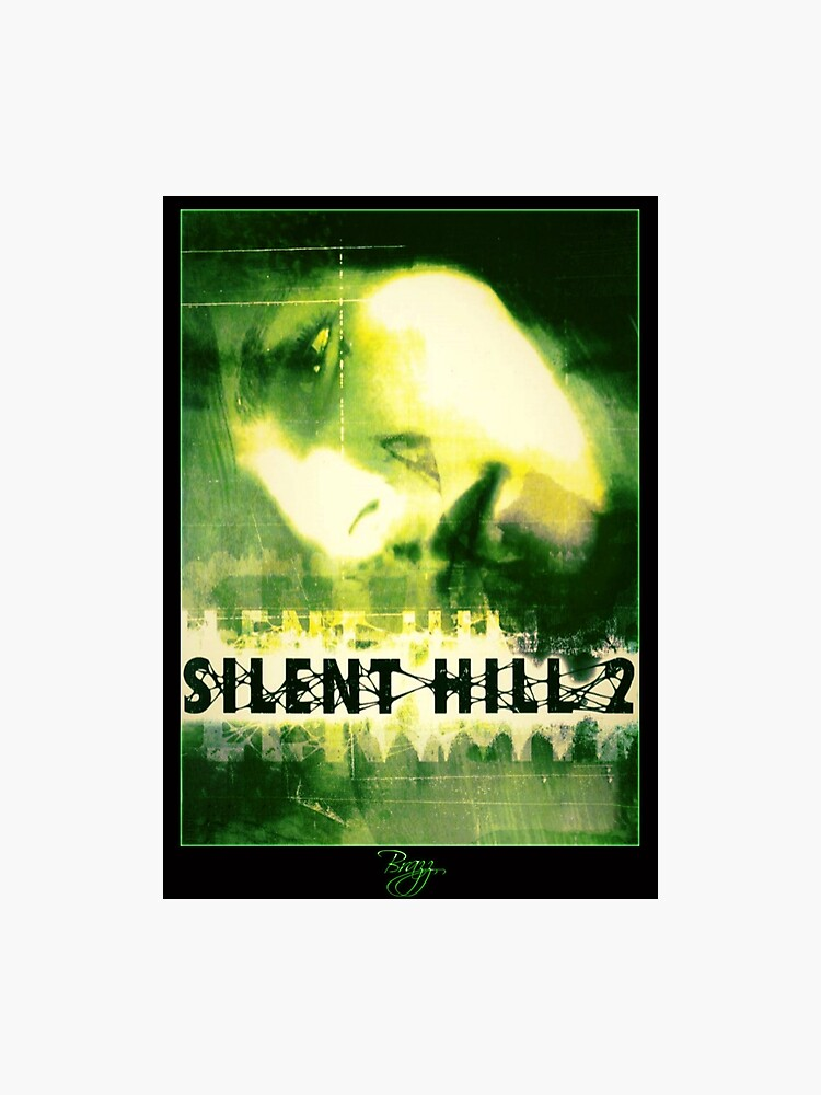 Silent Hill 2 Ps2 (Green OutLine) Box Cover Art - Brazz | Photographic Print