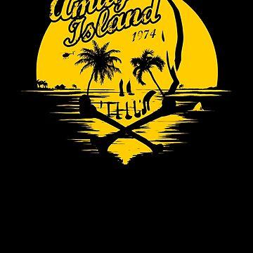 Amity island skull by alexMo