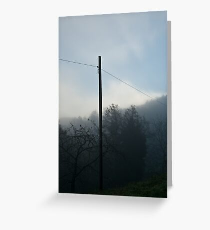 Fog Greeting Card