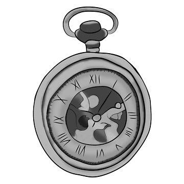 XXX - Clock Face Tattoo by aprilkristiine