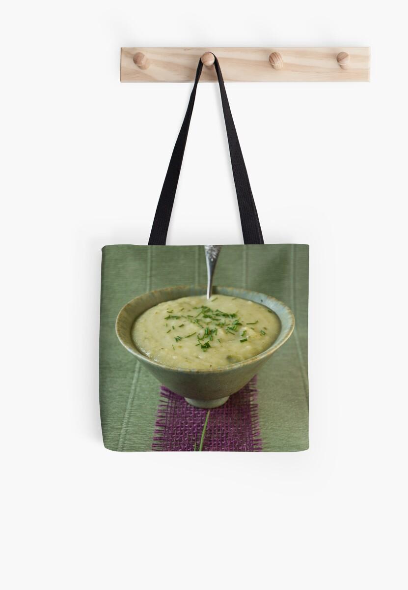 Leek and potato soup by Ilva Beretta