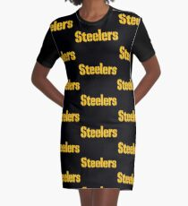 Pittsburgh Steelers T Shirts Graphic T-Shirt Dress
