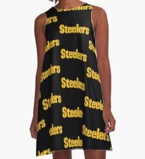 Pittsburgh Steelers T Shirts A-Line Dress