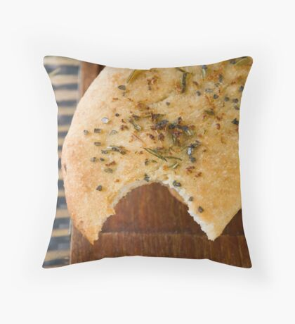 Focaccia Throw Pillow