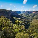 Govetts Leap Lookout, Blackheath, Blue Mountains by Danielasphotos