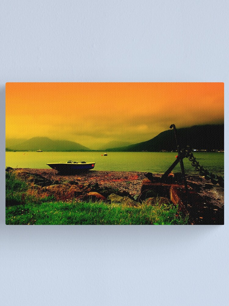 Alternate view of Holy Loch Sunset Canvas Print