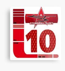 TAC Dept - Stonewall Fleet 10 Years Metal Print