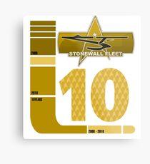 ENG Dept - Stonewall Fleet 10 Years Metal Print