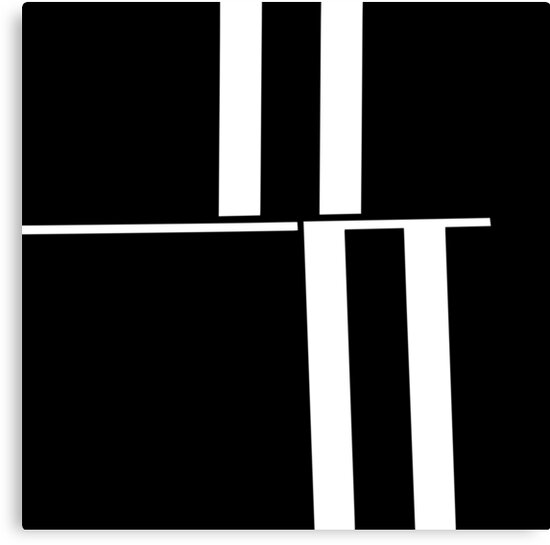 Anxiety Rectangles 1 #abstract #geometry #minimalism #redbubble by Menega  Sabidussi