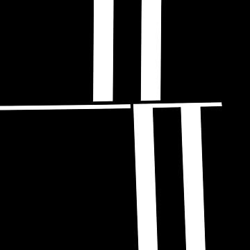 Anxiety Rectangles 1 #abstract #geometry #minimalism #redbubble by MenegaSabidussi