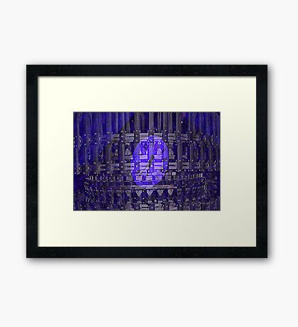 Simple to Complex Framed Print