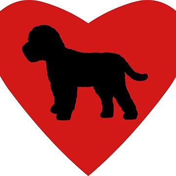 Cockapoo Dog Love Heart by sweetsixty