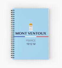 Mont Ventoux Climb Spiral Notebook