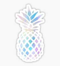 Cute water color pinapple Sticker