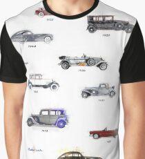 retro cars Graphic T-Shirt